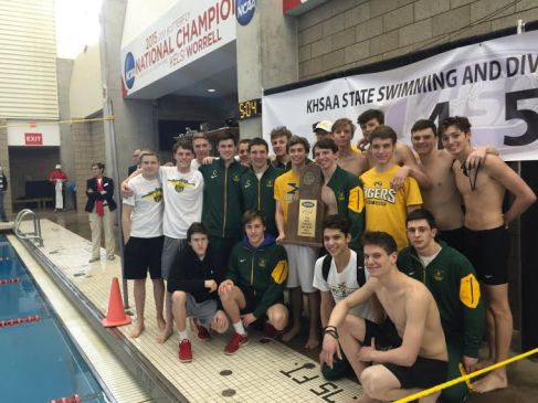 2016 Swimming and Diving State Champions